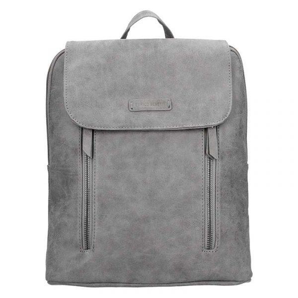 Moderní dámský batoh Enrico Benetti Tinna – šedá