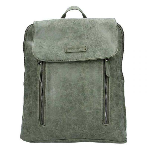 Moderní dámský batoh Enrico Benetti Tinna – olivová