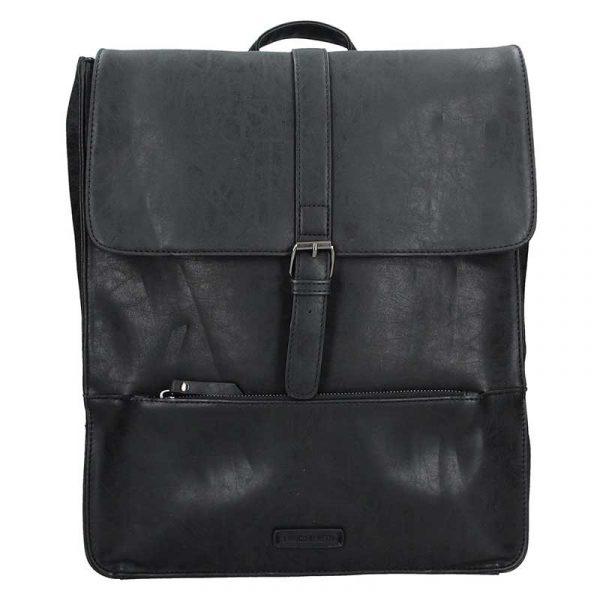 Velký trendy batoh Enrico Benetti Amsterdam – černá