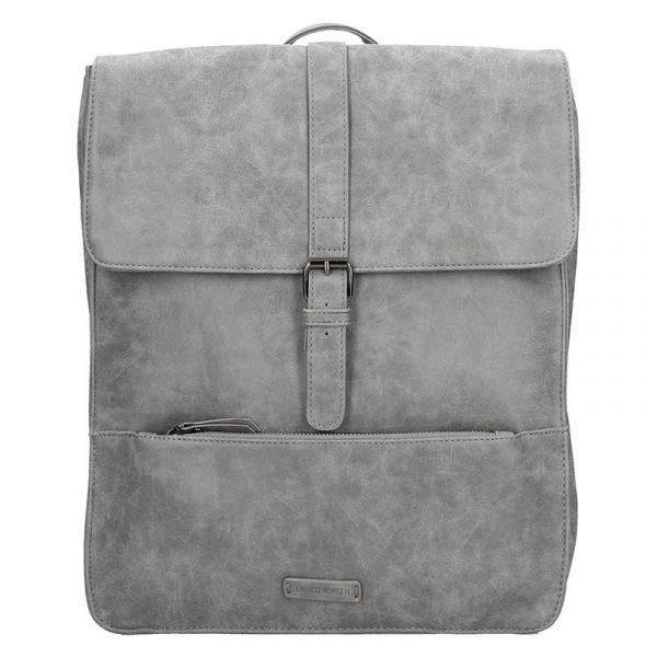 Velký trendy batoh Enrico Benetti Amsterdam – šedá