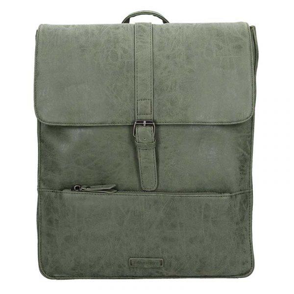 Velký trendy batoh Enrico Benetti Amsterdam – olivová