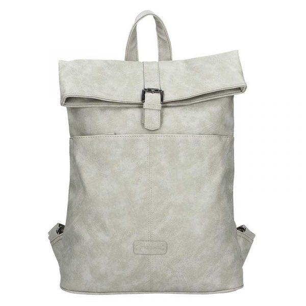 Moderní dámský batoh Enrico Benetti Ninna – světe šedá