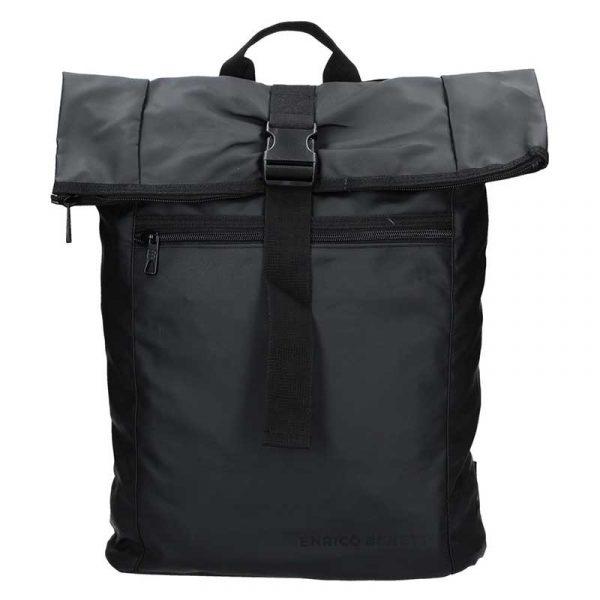 Pánský trendy batoh Enrico Benetti Mikolas – černá