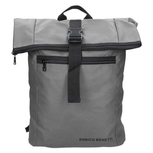 Pánský trendy batoh Enrico Benetti Mikolas – šedá