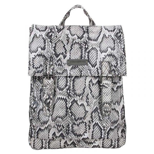 Moderní dámský batoh Enrico Benetti Snake – šedá