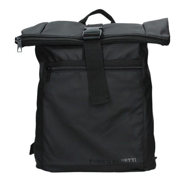 Pánský trendy batoh Enrico Benetti Kall – černá