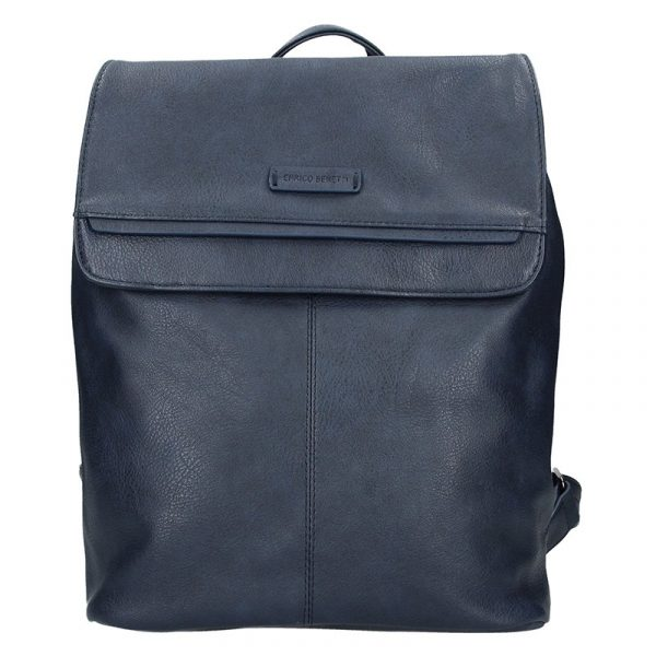 Moderní dámský batoh Enrico Benetti Alexa – modrá