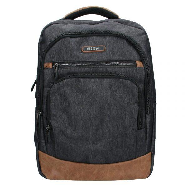 Moderní pánský batoh Enrico Benetti Radim – černo-šedá