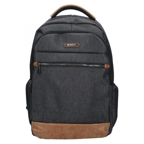 Moderní pánský batoh Enrico Benetti Rendl – černo-šedá