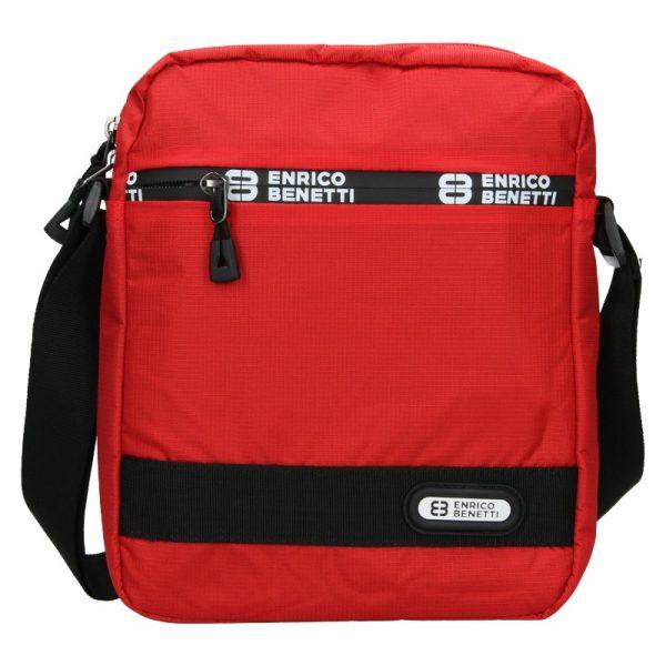 Pánská taška na doklady Enrico Benetti Gelt – červená