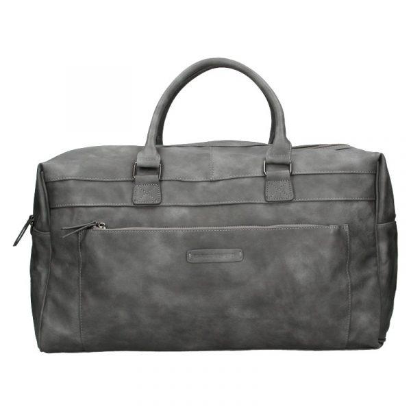 Trendy cestovní taška Enrico Benetti Travel – šedá