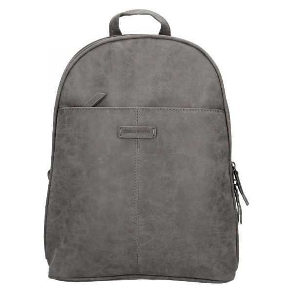 Trendy dámský batoh Enrico Benetti Manola – šedá