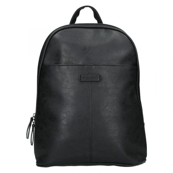 Trendy dámský batoh Enrico Benetti Manola – černá