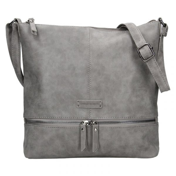 Dámská kabelka Enrico Benetti Muaric – šedá