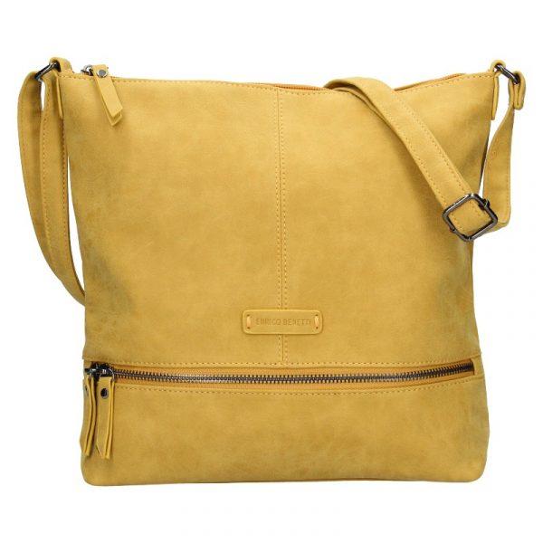 Dámská kabelka Enrico Benetti Muaric – žlutá