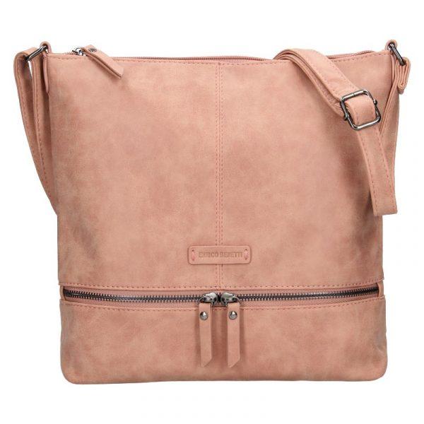 Dámská kabelka Enrico Benetti Muaric – růžová