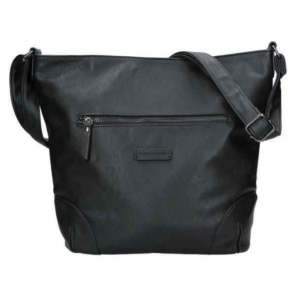 Dámská crossbody kabelka Enrico Benetti Misty – černá