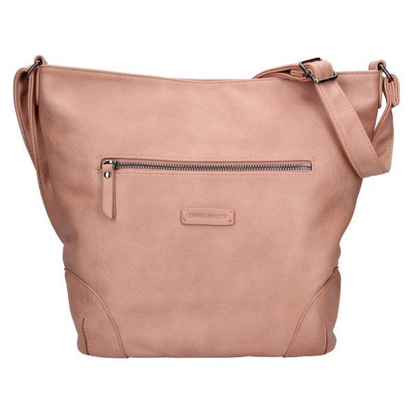 Dámská crossbody kabelka Enrico Benetti Misty – růžová