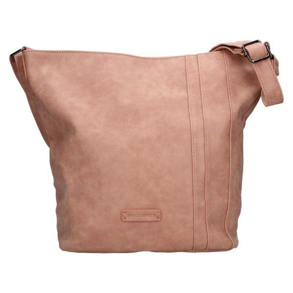 Dámská crossbody kabelka Enrico Benetti Kammy – růžová