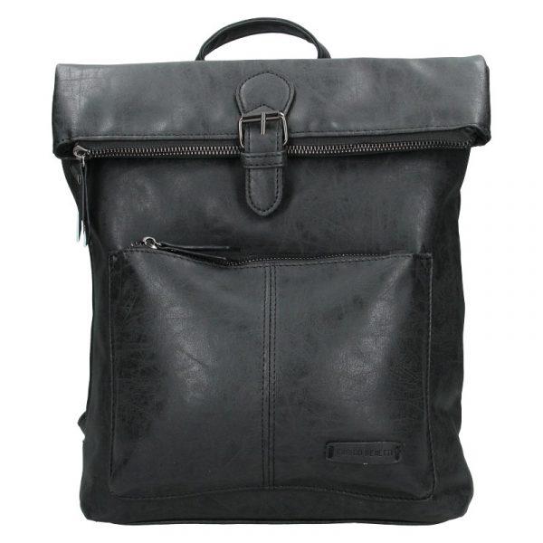 Moderní dámský batoh Enrico Benetti Nicolls – černá