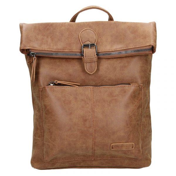 Moderní dámský batoh Enrico Benetti Nicolls – hnědá