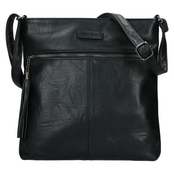Dámská crossbody kabelka Enrico Benetti 66233 – černá