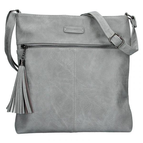 Dámská crossbody kabelka Enrico Benetti 66233 – šedá