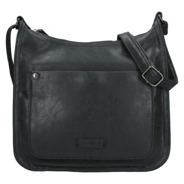 Dámská crossbody kabelka Enrico Benetti Madet – černá