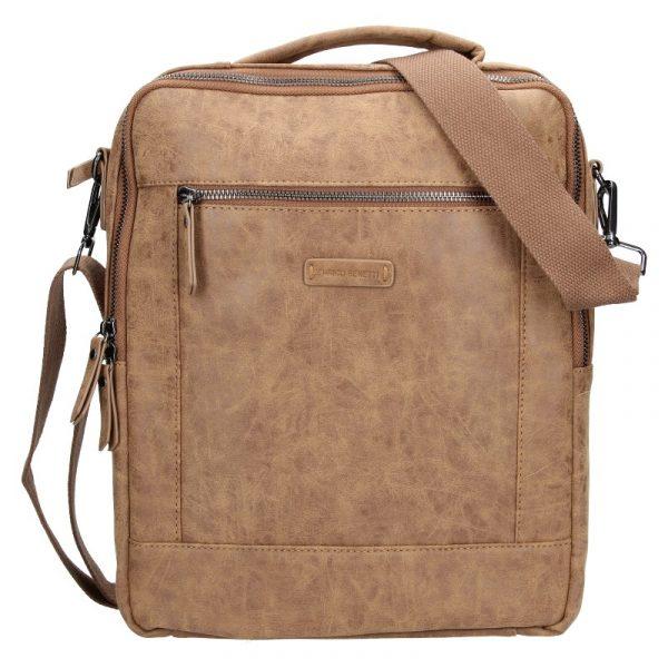 Trendy batoh/taška Enrico Benetti Nikk – hnědá