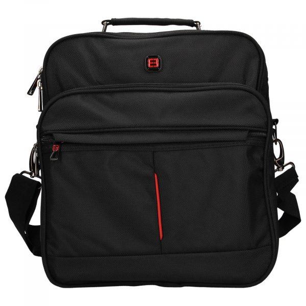 Pánská taška přes rameno Enrico Benetti Jerod – černá