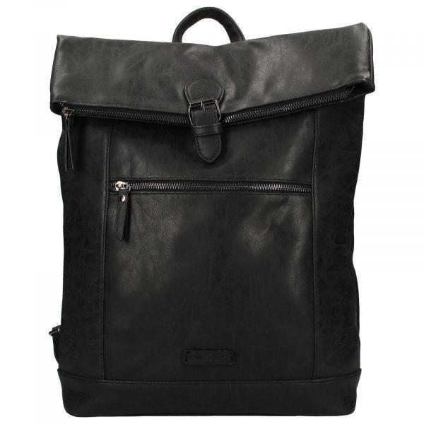 Moderní dámský batoh Enrico Benetti Badea – černá