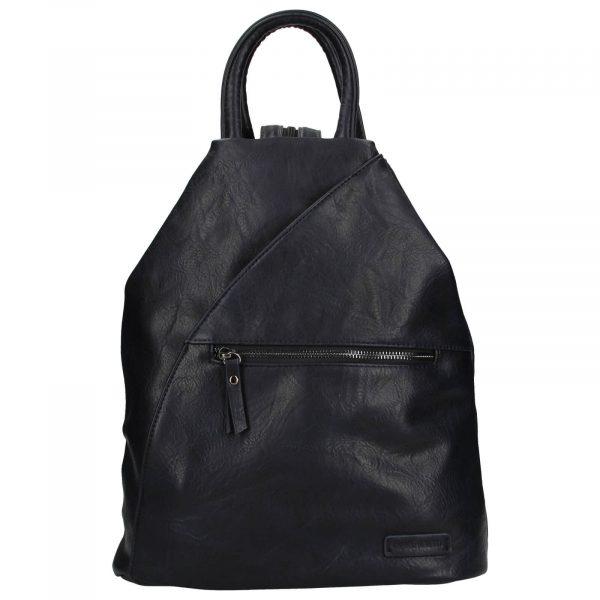Moderní dámský batoh Enrico Benetti Linia – tmavě modrá