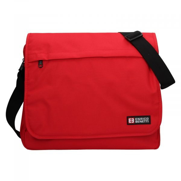 Pánská taška přes rameno Enrico Benetti Rudolf – červená