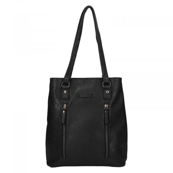 Elegantní dámská batůžko-kabelka Enrico Benetti Merta – černá